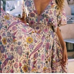 """Gypsy"" patterned maxi dress, like Spell! M"